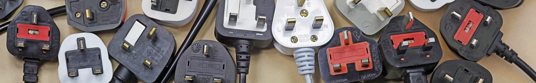 UK electrical applicance plugs